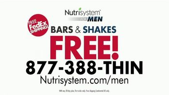 Nutrisystem for Men TV Spot, 'Put Down the Pie: Free Bars & Shakes' - Thumbnail 8