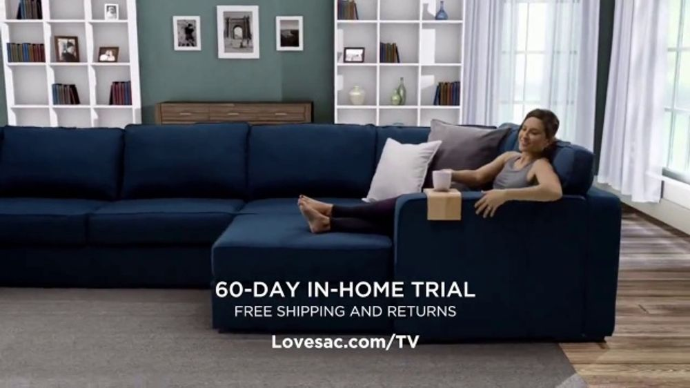Phenomenal Lovesac Sactional Tv Commercial Fits Every Room Video Bralicious Painted Fabric Chair Ideas Braliciousco