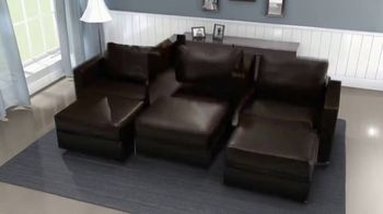 Lovesac Sactional TV Spot, 'Fits Every Room' - Thumbnail 4