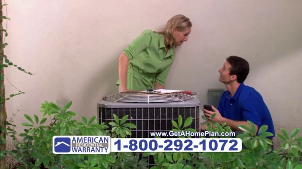 American residential warranty tv commercial 39 1 home for Www get a home plan com