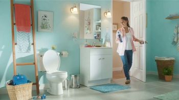 Lysol Power Toilet Bowl Cleaner TV Spot, '¡Qué sorpresa!' [Spanish]