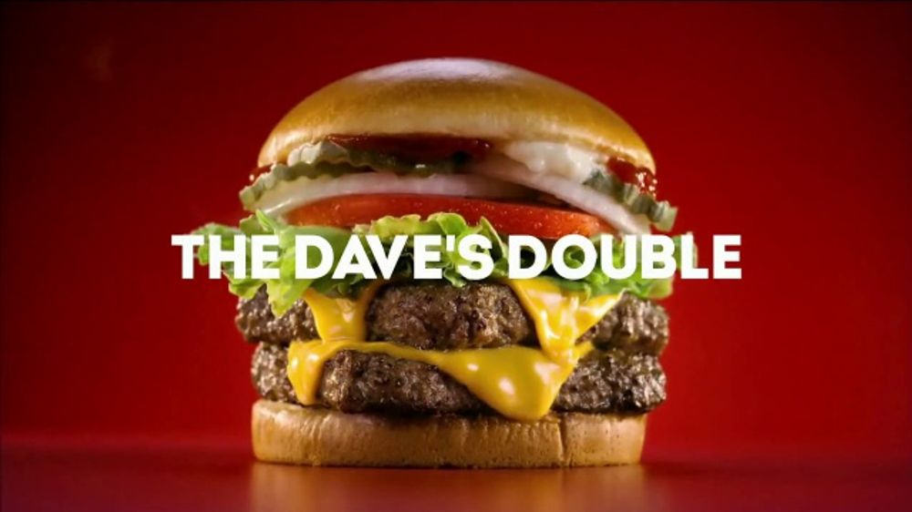 Wendy's Dave's Double TV Commercial, 'High Five'