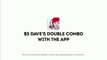 Wendy's Dave's Double TV Spot, 'High Five' - Thumbnail 10