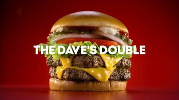 Wendy's Dave's Double TV Spot, 'High Five'