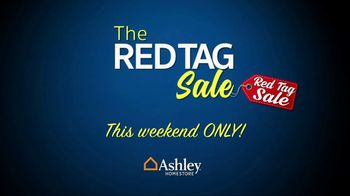 Ashley HomeStore Red Tag Sale TV Spot, 'Queen Bed and Dining Room' - Thumbnail 1