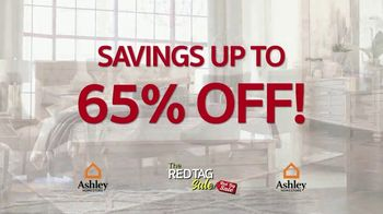 Ashley HomeStore Red Tag Sale TV Spot, 'Queen Bed and Dining Room' - Thumbnail 2