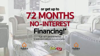 Ashley HomeStore Red Tag Sale TV Spot, 'Queen Bed and Dining Room' - Thumbnail 3