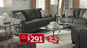 Ashley HomeStore Red Tag Sale TV Spot, 'Queen Bed and Dining Room' - Thumbnail 4