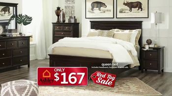 Ashley HomeStore Red Tag Sale TV Spot, 'Queen Bed and Dining Room' - Thumbnail 5