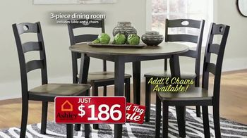 Ashley HomeStore Red Tag Sale TV Spot, 'Queen Bed and Dining Room' - Thumbnail 6