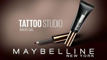 Maybelline Tattoo Studio Brow Gel TV Spot, 'Brow Impact for Days' - Thumbnail 10