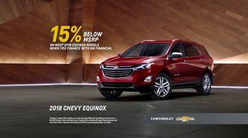 2018 Chevrolet Equinox TV Spot, 'That's My Chevy' - Thumbnail 9