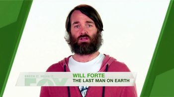 FOX TV Spot, 'Green It. Mean It.: Household Waste' Featuring Will Forte