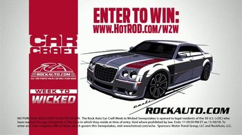 RockAuto Car Craft Week to Wicked Sweepstakes TV Spot, 'Transform' - Thumbnail 7