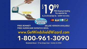Hurricane Windshield Wizard TV Spot, 'Reaches and Cleans for You' - Thumbnail 10