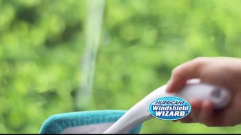 Hurricane Windshield Wizard TV Spot, 'Reaches and Cleans for You' - Thumbnail 3