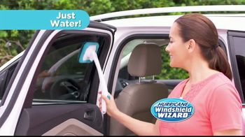 Hurricane Windshield Wizard TV Spot, 'Reaches and Cleans for You' - 18 commercial airings