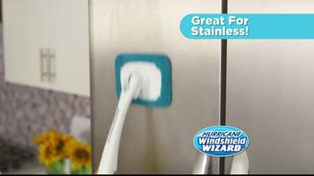 Hurricane Windshield Wizard TV Spot, 'Reaches and Cleans for You' - Thumbnail 5