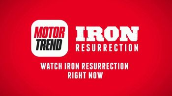 Motor Trend OnDemand TV Spot, 'Iron Resurrection' - Thumbnail 10