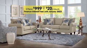 Rooms to Go TV Spot, 'Labor Day: Five-Piece Living Room' - Thumbnail 3