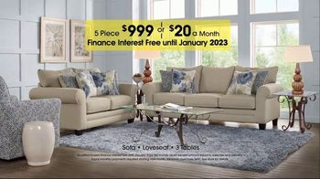 Rooms to Go TV Spot, 'Labor Day: Five-Piece Living Room' - Thumbnail 4