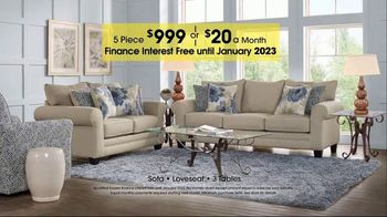 Rooms to Go TV Spot, 'Labor Day: Five-Piece Living Room' - Thumbnail 5