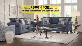 Rooms to Go TV Spot, 'Labor Day: Five-Piece Living Room' - Thumbnail 6