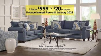 Rooms to Go TV Spot, 'Labor Day: Five-Piece Living Room' - Thumbnail 9