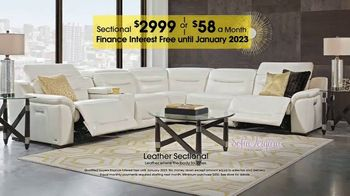Rooms to Go TV Spot, 'Labor Day: Leather Sectional'