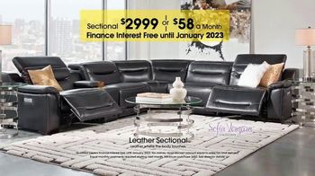 Rooms to Go TV Spot, 'Labor Day: Leather Sectional' - Thumbnail 8