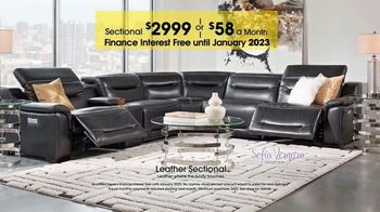Rooms to Go TV Spot, 'Labor Day: Leather Sectional' - Thumbnail 9