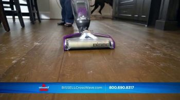 Bissell CrossWave Pet Pro TV Spot, 'Same Time'