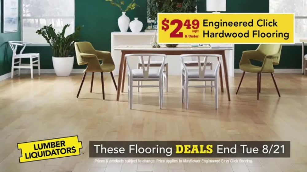Lumber Liquidators TV Commercial, 'Deals for Every Room'