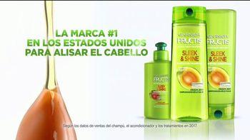 Garnier Fructis Sleek & Shine TV Spot, 'Super liso' [Spanish] - Thumbnail 10