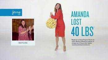 Jenny Craig Rapid Results TV Spot, 'Amanda: $120 in Free Food' - Thumbnail 1