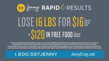 Jenny Craig Rapid Results TV Spot, 'Amanda: $120 in Free Food' - Thumbnail 8