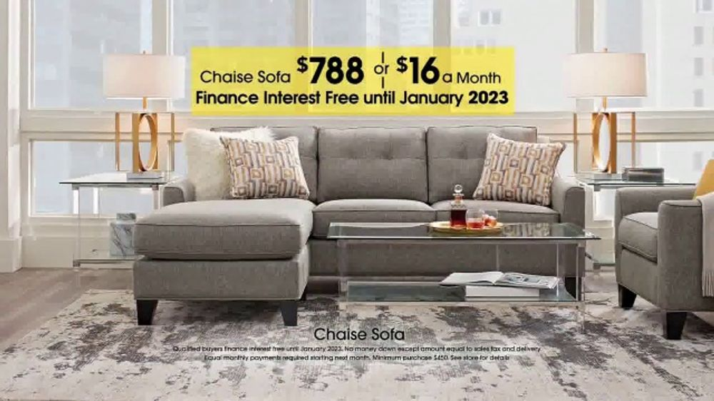Rooms To Go Tv Commercial Labor Day Chaise Sofa Ispot Tv