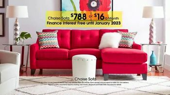 Rooms to Go TV Spot, 'Labor Day: Chaise Sofa' - Thumbnail 2