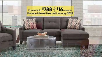 Rooms to Go TV Spot, 'Labor Day: Chaise Sofa' - Thumbnail 5