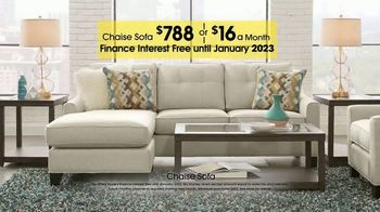 Rooms to Go TV Spot, 'Labor Day: Chaise Sofa' - Thumbnail 7