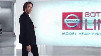 Nissan Bottom Line Model Year-End Event TV Spot, 'Big Clearance Savings'
