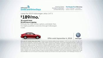 Volkswagen Smile and Drive Days TV Spot, 'A Lot of Volkswagen' [T2] - Thumbnail 8