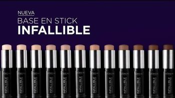 L'Oreal Paris Infallible Shaping Sticks TV Spot, 'Perfeccionar' [Spanish] - 352 commercial airings