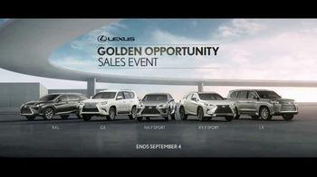 Lexus Golden Opportunity Sales Event TV Spot, 'Always in Your Element' [T2] - Thumbnail 5