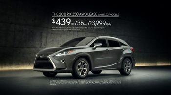 Lexus Golden Opportunity Sales Event TV Spot, 'Always in Your Element' [T2] - Thumbnail 7