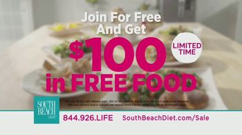 South Beach Diet Healthy Living Sale TV Spot, 'Get $100 in Free Food' - Thumbnail 9
