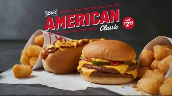 Sonic Drive-In American Classic With QPDCB TV Spot, 'Mmmerica'