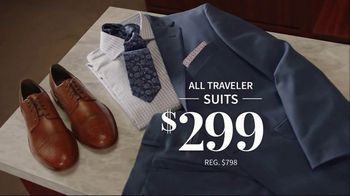 JoS. A. Bank 4-Day Only Sale TV Spot, 'Traveler Suits and Dress Shirts' - Thumbnail 4