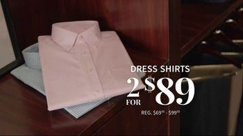 JoS. A. Bank 4-Day Only Sale TV Spot, 'Traveler Suits and Dress Shirts' - Thumbnail 5