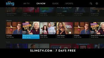 Sling TV Spot, 'Game Time: $25' - Thumbnail 8